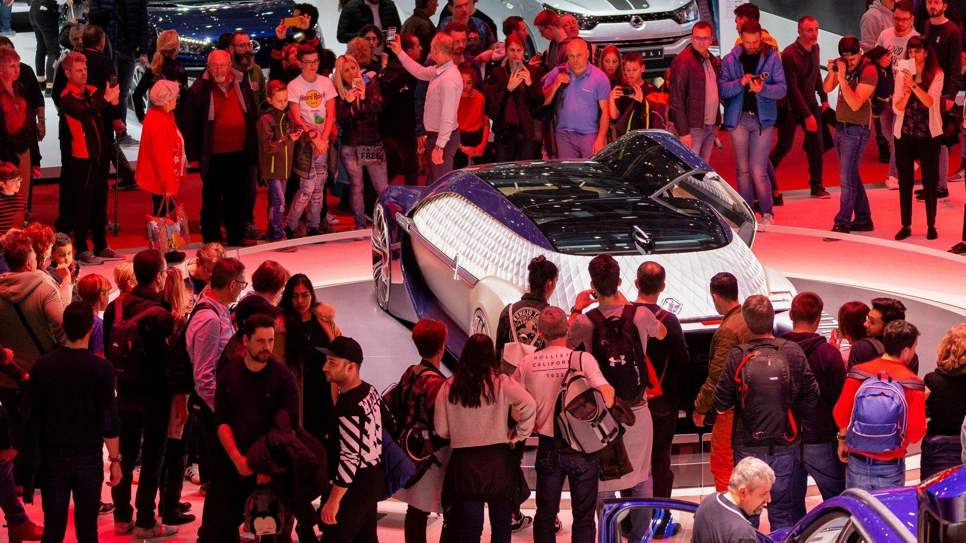 At the Geneva Motor show