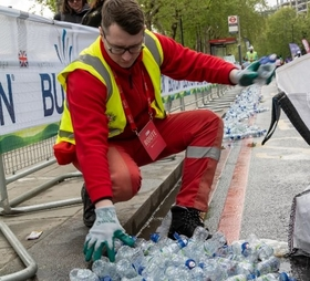 Bottle collection follwing London Marathon 2019.jpg