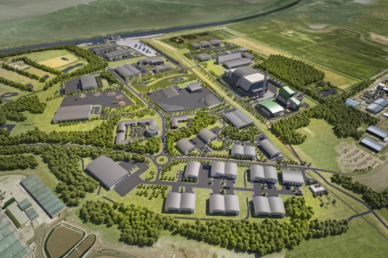 Artist's impression of Protos, a 134-acre site operated by Peel Environmental_0.png
