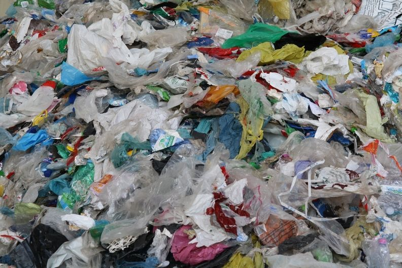 Plastic recycling is not always in prime condition, which adds cost.jpg
