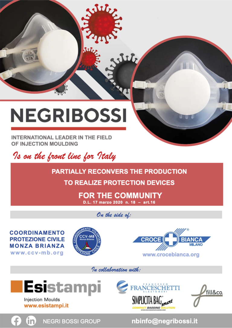 Negri Bossi launches production of face masks in fight against COVID-19