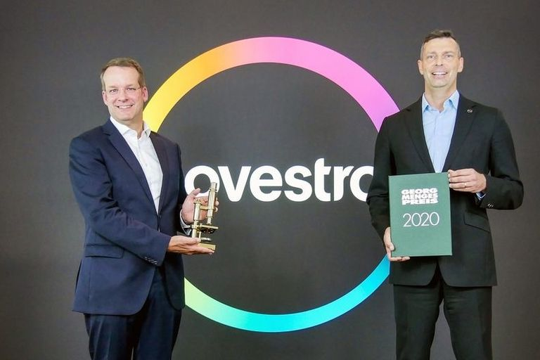 Top honours for Covestro CEO, IKV researcher
