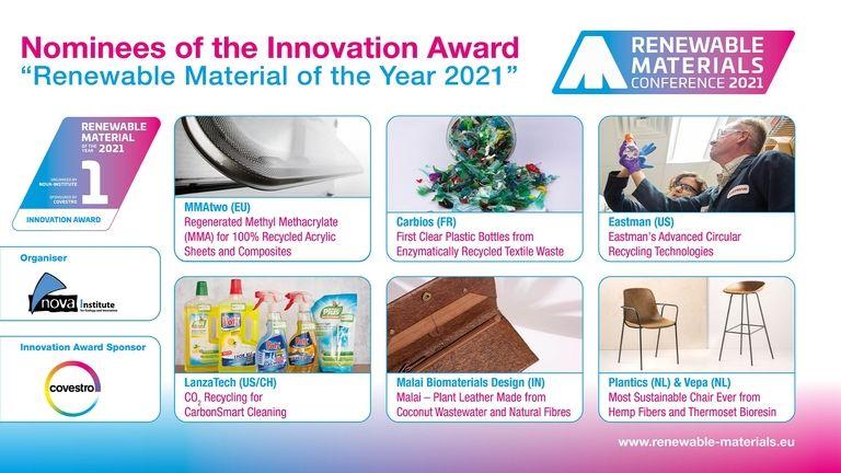 Nova-Institute launches new Renewable Materials Conference