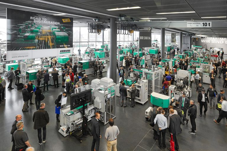 Arburg sets a summer date for its Technology Days in 2021