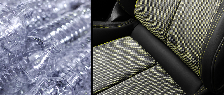 Audi seat upholstery