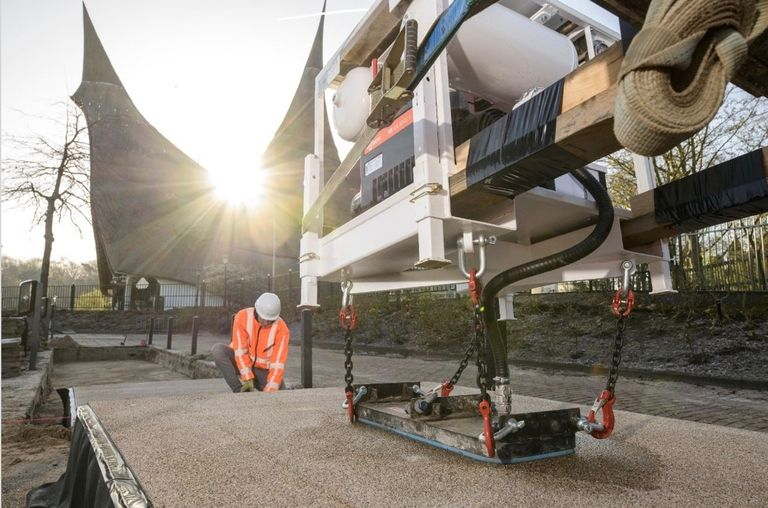 Roads from recycled plastic will transform infrastructure development