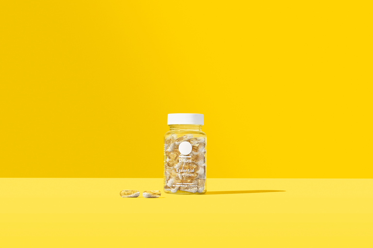 Multivitamins marketed in 100% recycled PET bottle from Amcor