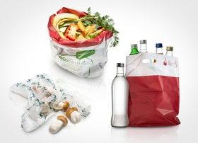 BASF bags made from ecovio