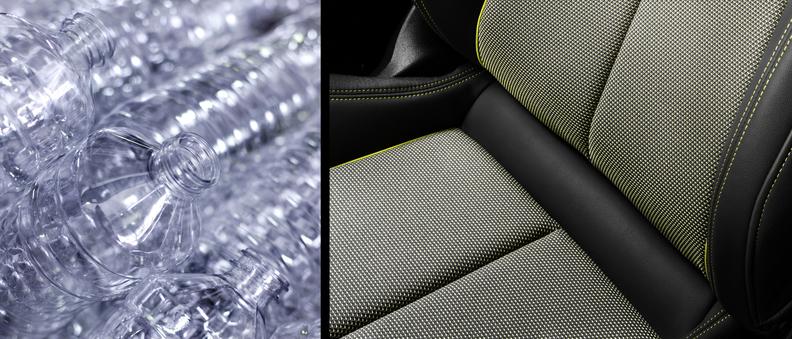 Audi seat upholstery
