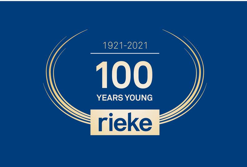 Rieke centenary logo
